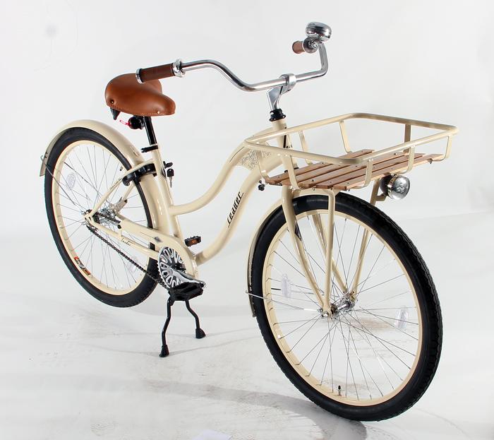 26 cruiser beachcruiser fahrrad damen damenfahrrad sturdy ii creme neu ebay. Black Bedroom Furniture Sets. Home Design Ideas